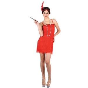 Showtime Flapper Girl - Red (EF2122)